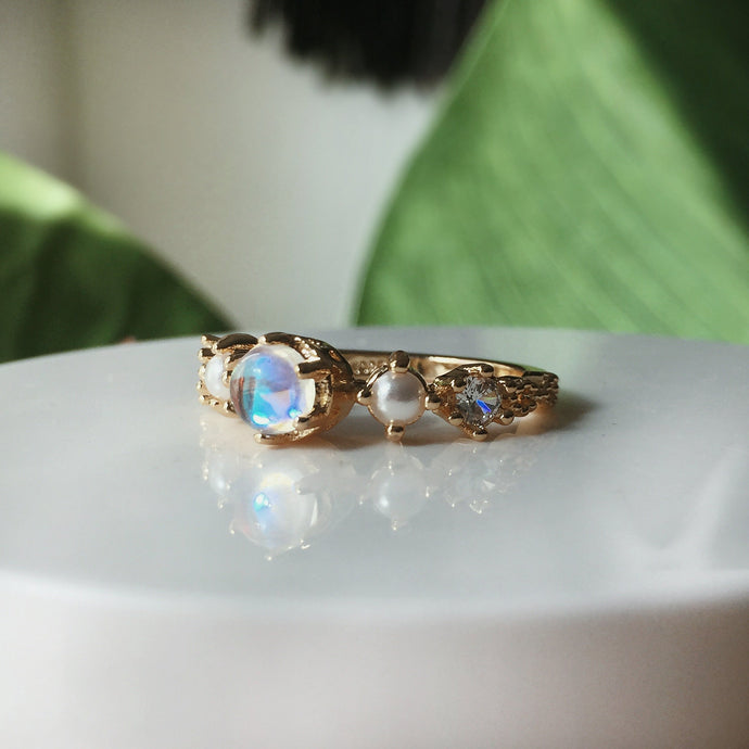 The Wandering Moonstone Ring