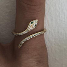 Load image into Gallery viewer, The Sylvia Serpent Ring