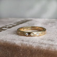 Load image into Gallery viewer, The Moon and Stars Stacking Ring