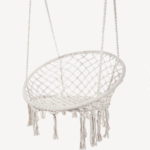 The Morning Meadow Macrame Chair