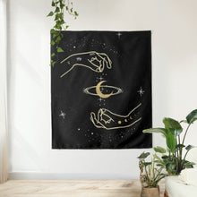 Load image into Gallery viewer, Celestial Hands Tapestry