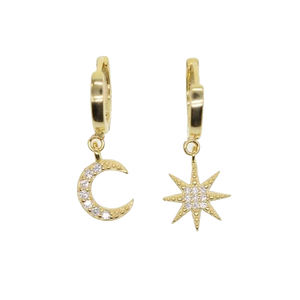 Celestial Charm Earrings