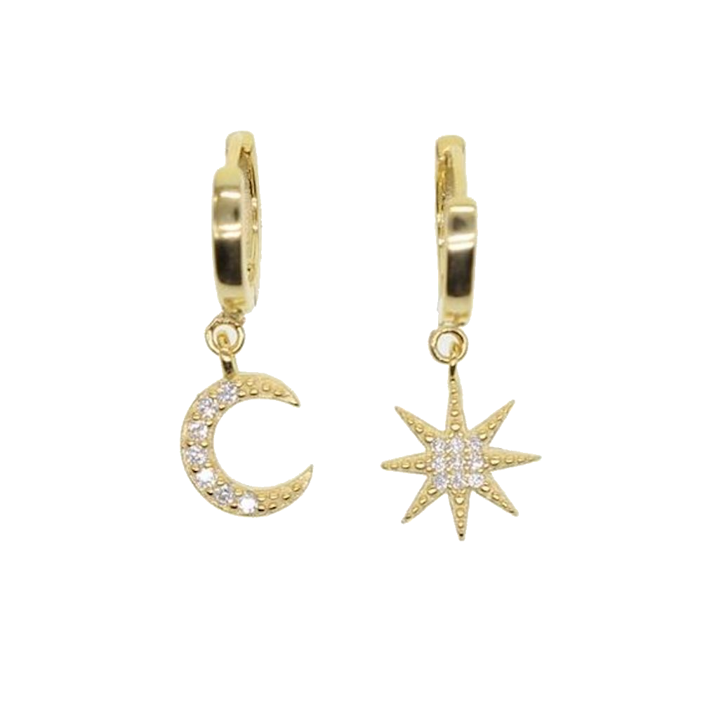 Celestial Star Earrings