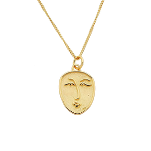 Picasso Coin Necklace