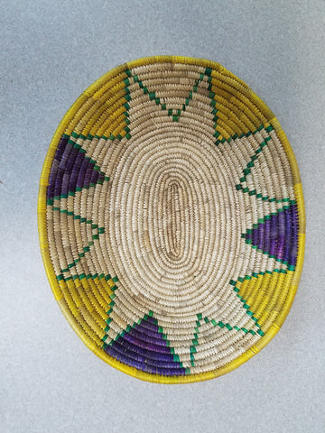 Handwoven Basket # 18-4
