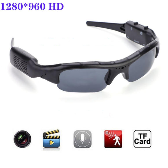Sports Cam Recorder Digital Camera Sunglasses HD Glasses Eyewear DVR Video Recorder For Cycling/driving/skiing