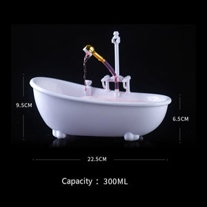 Premium White creative cocktail Bathtub