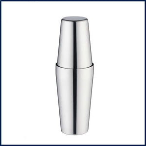 Professional double metal bartender shaker