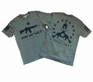 Come And Take It Molon Labe Unisex T-shirt