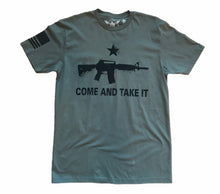 Load image into Gallery viewer, Come And Take It Molon Labe Unisex T-shirt