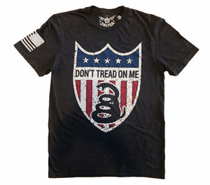 Don't Tread On Me Color Shield Unisex T-shirt