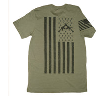Load image into Gallery viewer, Freedom Heather Olive Unisex T-shirt