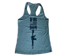 Load image into Gallery viewer, Freedom Olive Ladies' Racerback Tank