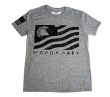 Load image into Gallery viewer, Molon Labe Heather Grey Unisex T-shirt