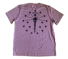 Load image into Gallery viewer, Indiana Double Vacation Mauve Unisex T-shirt