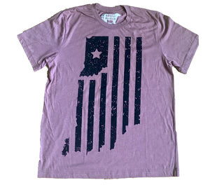 Indiana Double Vacation Mauve Unisex T-shirt