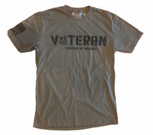 Load image into Gallery viewer, Veteran Unisex T-shirt