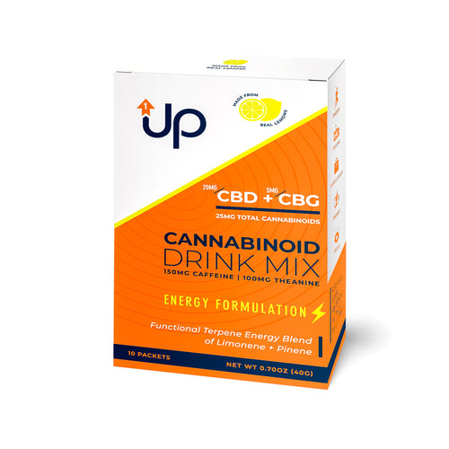 Cannabinoid Energy Drink Mix (CBD + CBG)