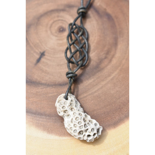 Coral Diffuser Necklace #3