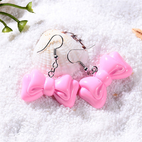 Star Sign Bow Earrings