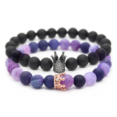 King + Queen Bracelet SET
