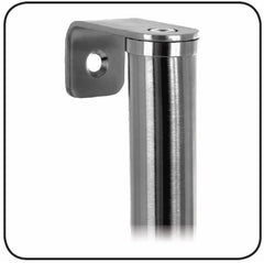 Aluspec 200 Series Entrance Full Height Pole Handles SSS