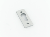 screw on escutcheon silver - aluspec