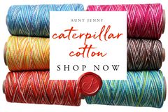CATERPILLAR COTTON shop now with Aunt Jenny