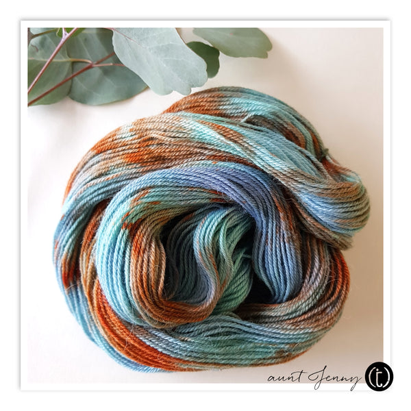 Finished Hand Dyed Yarn