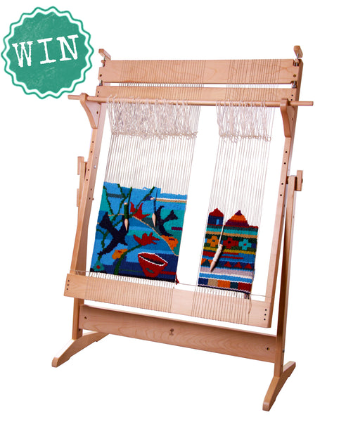 Win this Ashford Tapestry Loom from Aunt Jenny by visiting the Art Gallery of NSW in Sydney. Product details: https://www.auntjenny.com.au/collections/weaving-looms/products/tapestry-loom