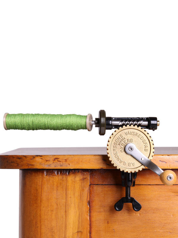 Wooden Bobbin Winder