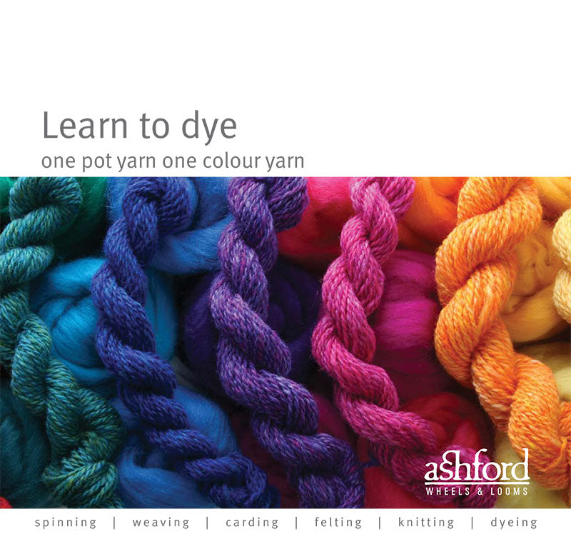 Learn Dye One Pot One Colour Yarn  - Digital PDF