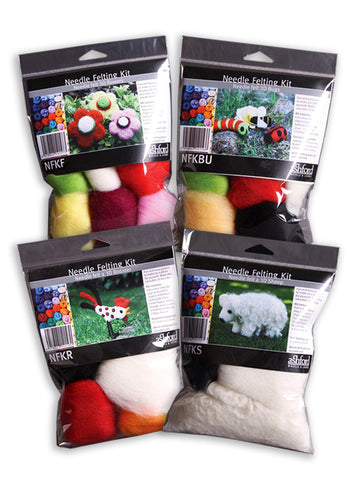 Needle Felting Beginner Kits