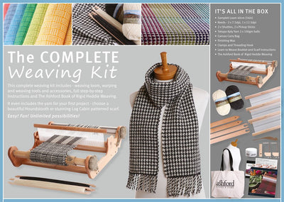 The Complete Weaving Kit Lable