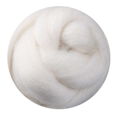 1kg Bulk - Corriedale Sliver - Natural White