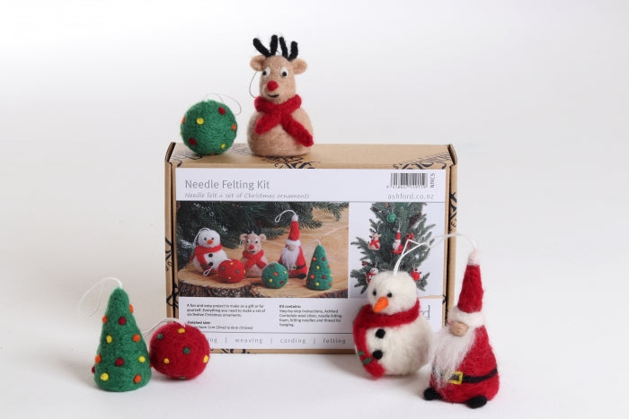 Needle Felting Kits Christmas Special
