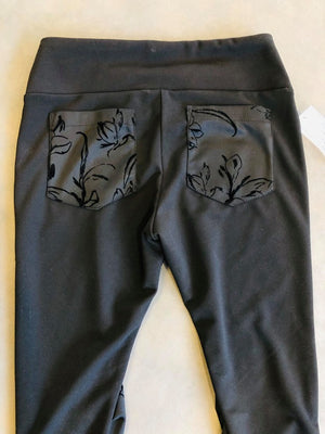 Leggings Sweet  Noir de Trifle