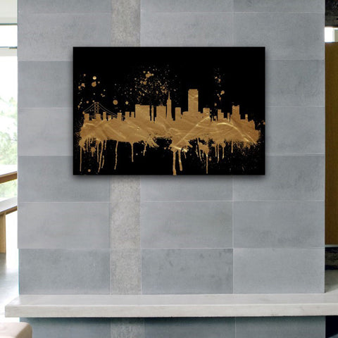 San Francisco Skyline Canvas Art