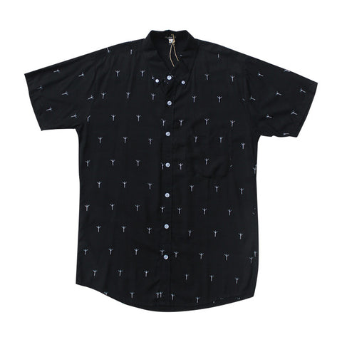 Runes S/S Shirt in Black