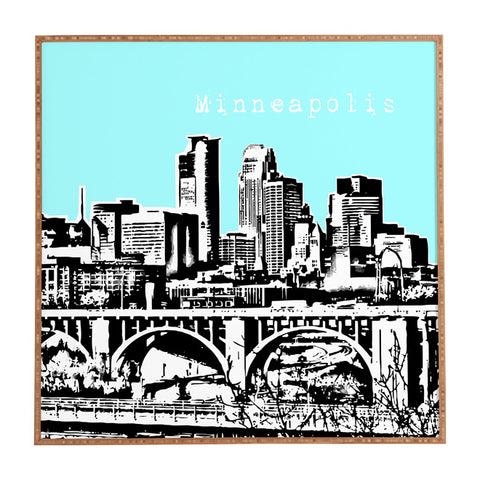 Minneapolis Sky Framed Wall Art by Bird Ave