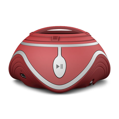Nova Mini Portable Speaker in Red
