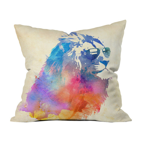 Sunny Leo by Robert Farkas Throw Pillow