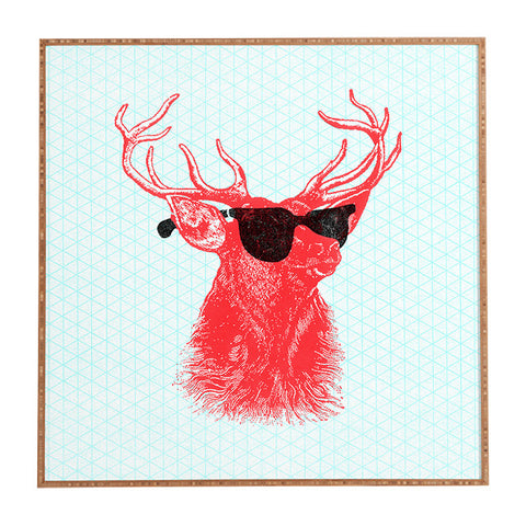 Young Buck Framed Wall Art by Nick Nelson