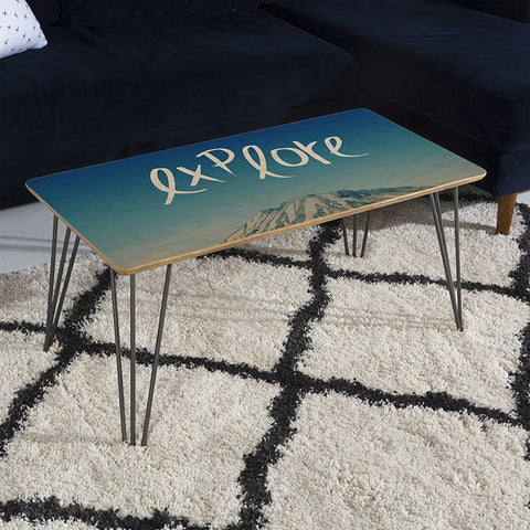 Explore Coffee Table by Leah Flores