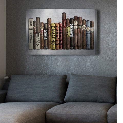 Smokers Delight Canvas Art