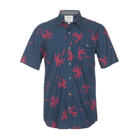Palms Shirt in Navy