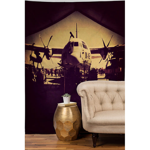 Military Day by Ballack Art House Tapestry