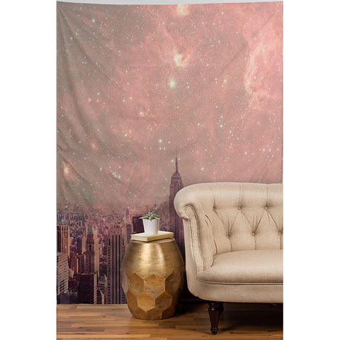 Stardust Covering New York by Bianca Green Tapestry