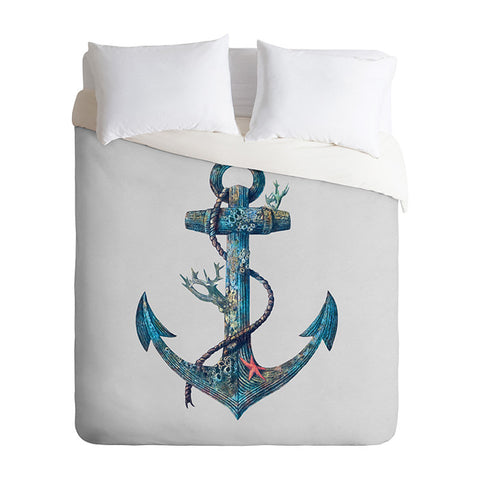 Lost at Sea by Terry Fan Duvet Cover