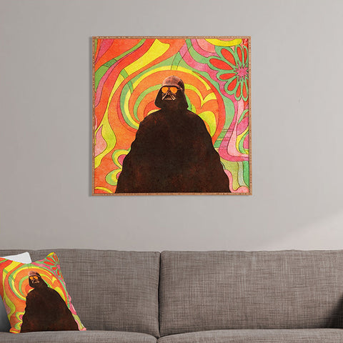 The Groovy Side Framed Wall Art by Terry Fan